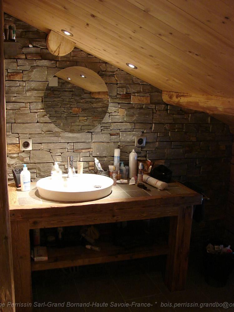 Salle de bain teck et ardoise ~ Solutions pour la décoration ...